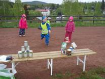 Sand barnehage aktivitetsdag på Prestberget