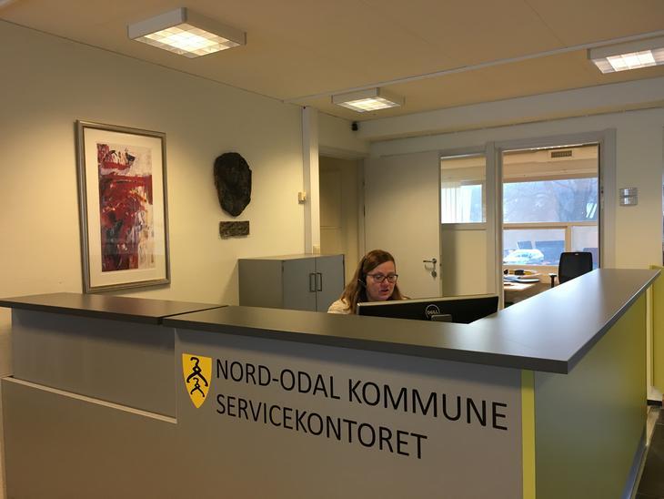 Kari Brunæs på Servicekontoret