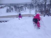 Gøy med snø
