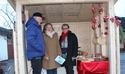 Driftige lokale håndverkere og næringsdrivende på julemarked
