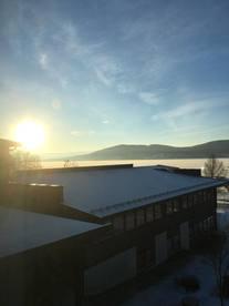 Storsjøen Vinter