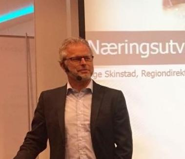 Åge Skinstad, Regiondirektør NHO Innlandet
