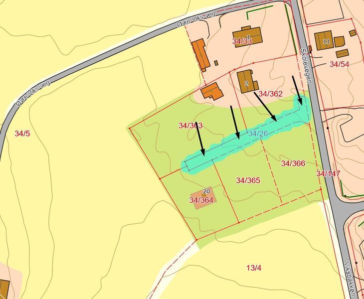 Kart Nordbytunet