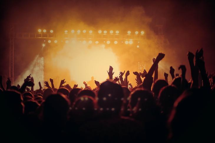Illustrasjon konsert