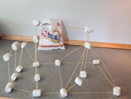 Illustrasjon marshmallows