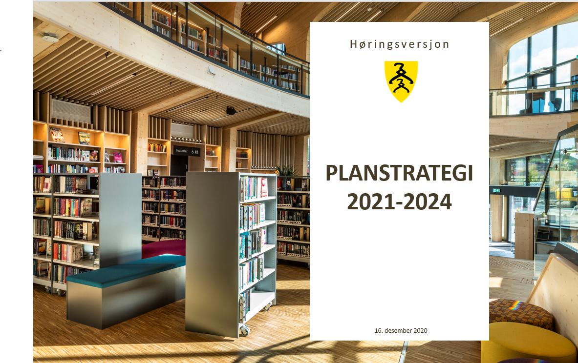 Forside planstrategi 2021 - 2024