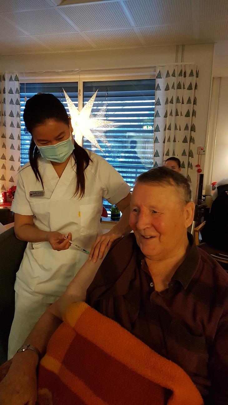 Første vaksinasjon i Nord-Odal