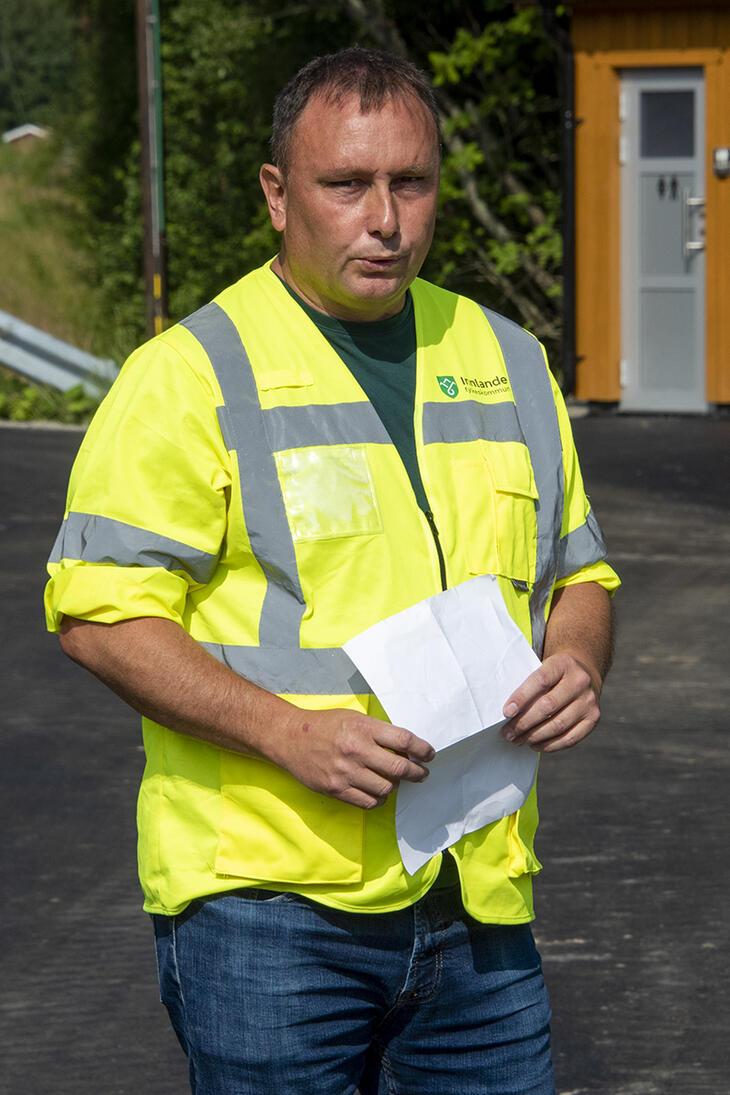 Prosjektleder Ronny Finvik fra Innlandet fylkeskommune